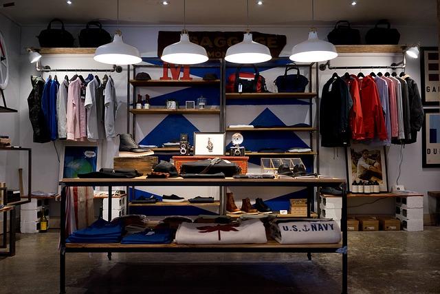 boutique de vêtement prêt à porter