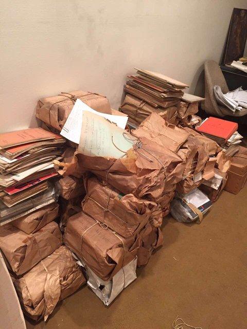 enlèvement de cartons et d'archives