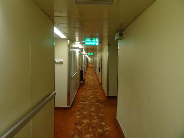 moquette d'un hôtel