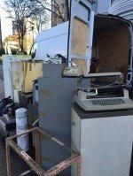 anciens machines et matériels à évacuer en région Parisienne