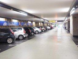 parking pour voitures en sous sol