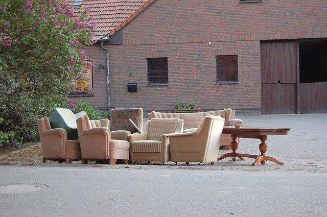 Débarras de canapés et de meubles
